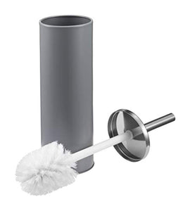 Epistar Toilet Brush Set | Stainless Steel Handle | Matte Finish Holder | Stylish Modern Design (Grey) - iBuy Africa