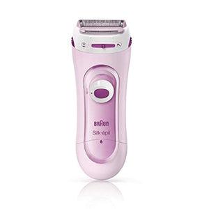 Braun Silk-Epil Lady Shaver 5-100 Pink, Electric Shaver and Trimmer System with 1 Extra - iBuy Africa