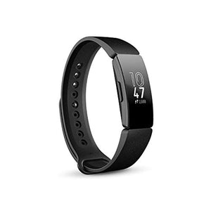 Fitbit Inspire Health & Fitness Tracker with Auto-Exercise Recognition, 5 Day Battery, Sleep & Swim Tracking, Black- Accessories - iBuy Africa