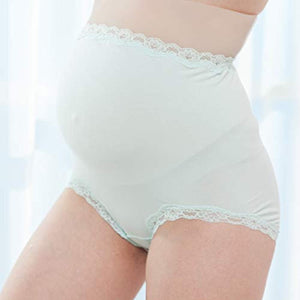 Waist Pregnancy Underwear, Lace Full Coverage Over Bump Maternity Knickers - iBuy Africa