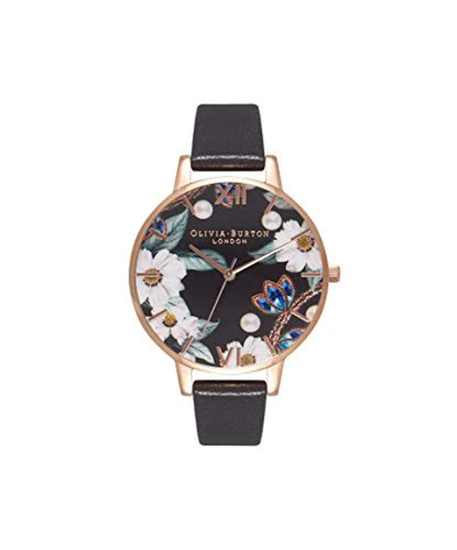 Olivia Burton Womens Analogue Japanese Quartz Watch with Leather Strap OB16BF04 - iBuy Africa