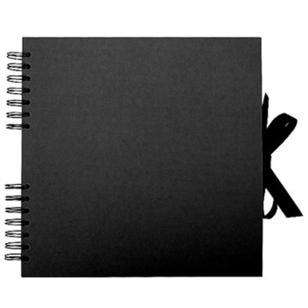 Black Kraft Square Scrapbook - iBuy Africa