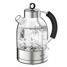 Load image into Gallery viewer, Glass Kettle Electric -1.7L Eco Water Tea Kettle Quiet Fast Boiling with BPA Free Auto Shut-Off & Boil-Dry Protection, 3000W - iBuy Africa