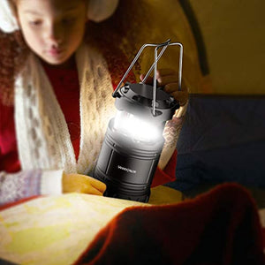 [2 PACK] Camping Lantern- Sahara Sailor Ultra Bright LED Lantern- Collapses - Suitable for: Hiking, Camping, Emergencies, Hurricanes, Outages - Super Bright - Lightweight - Water Resistant - iBuy Africa