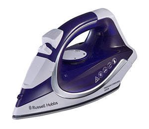 Russell Hobbs 23300 Freedom Cordless Iron, 2400 W, Purple/White, Porcelain - iBuy Africa