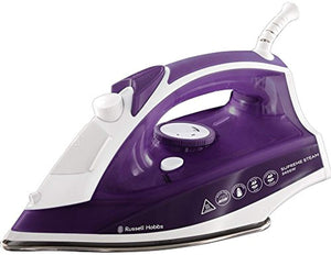 Russell Hobbs  Supreme Steam Traditional Iron, 2400 W, Purple/White - iBuy Africa