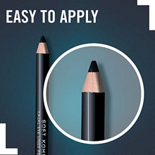 Load image into Gallery viewer, Rimmel London Soft Kohl Eyeliner Pencil, Long-lasting and Smudge-proof Formula with Easy Application, Jet Black, 1.2 g - iBuy Africa