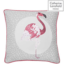 Load image into Gallery viewer, Catherine Lansfield Flamingo Easy Care King Duvet Set Grey - iBuy Africa