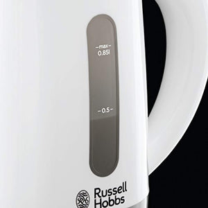 Russell Hobbs 23840 Compact Travel Electric Kettle, Plastic, 1000 W, White - iBuy Africa