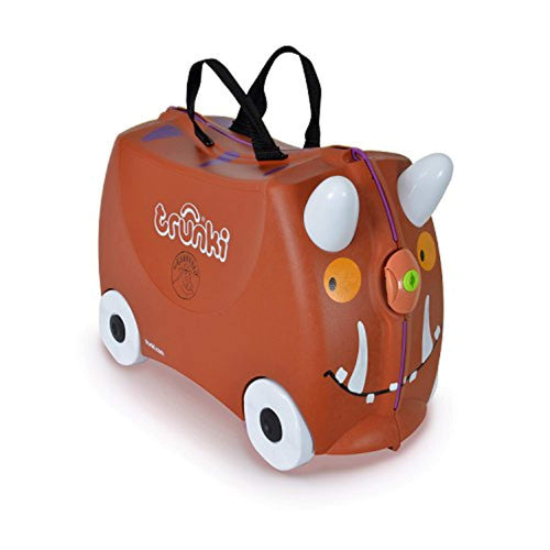 Trunki Children's Ride-On Suitcase & Hand Luggage: Gruffalo (Brown) - iBuy Africa