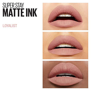 Maybelline Lipstick, Superstay Matte Ink Longlasting Liquid Nude Lipstick Up to 12 Hour Wear, Non Drying 05 Loyalist - iBuy Africa