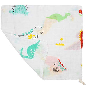 LifeTree Baby Washcloths Muslin 6 Pack, Baby Face Towel and Wash Cloths for Bath, Soft Baby Muslin Cloths, Wipes, Bibs for Girls & Boys 10.6 x 10.6inch - iBuy Africa