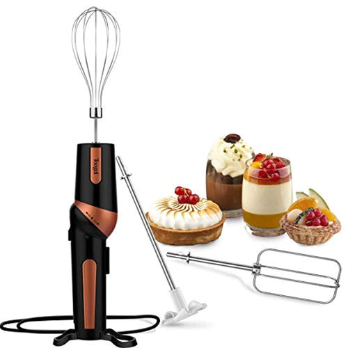 Electric Hand Mixer Ergonomic Twistable Egg Beater Handheld Mixer Includes Whisk, Beater and Drink Mixer Attachment, UK Plug - iBuy Africa