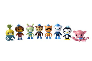Fisher-Price Y9297 - Octonauts 8 Figure Playset - Octo-Crew Figurine Set - iBuy Africa