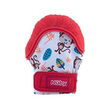 Load image into Gallery viewer, Nuby Teething Mitt, Red - iBuy Africa
