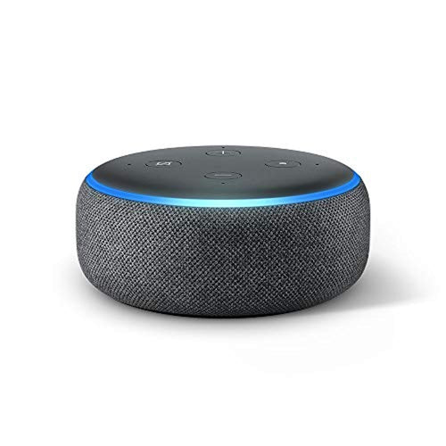Echo Dot (3rd Gen) - Smart speaker with Alexa - Charcoal Fabric- Electronics - iBuy Africa