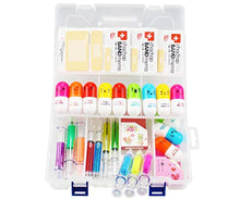 Load image into Gallery viewer, Student Nurse Gifts,6 Highlighter Syringe Pens,4 Syringe Ballpoint Pens,12 Novelty Capsule Pens,3 Band Aid Sticky Notes,1 Translucent Box and 2 Cute Decoration Tapes,Suit for Vet Nurse Doctor Gift - iBuy Africa