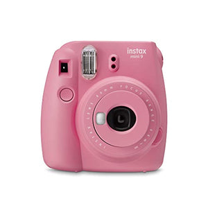 instax Mini 9 Camera with 10 Shots, Blush Rose - iBuy Africa