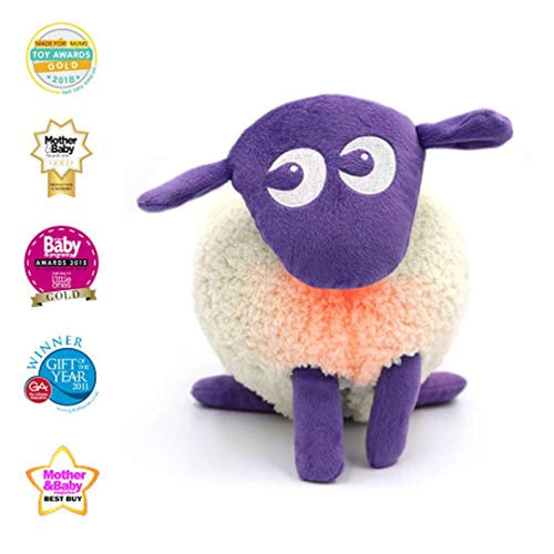 Sweet Dreamers, Ewan The Dream Sheep, Purple - Baby White/Pink Noise Machine and Sleep Aid Toy with Night Light - iBuy Africa