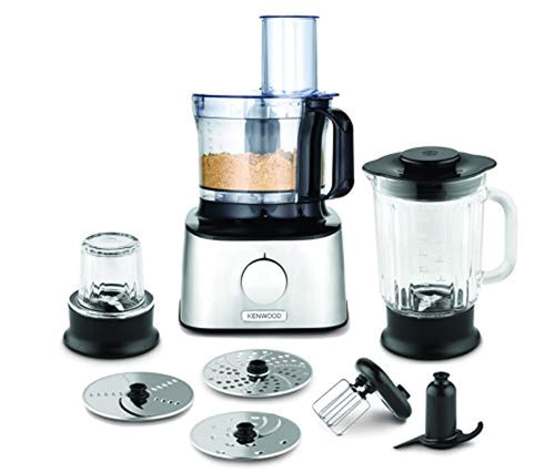 Kenwood FDM302SS Multipro Compact Food Processor, 800 W, Silver - iBuy Africa