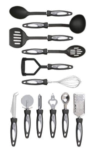 Premier Housewares Stainless Steel Tool Set, 12-Pieces - iBuy Africa