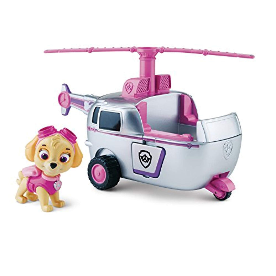 Paw Patrol Skye's High Flyin' Copter Vehicle with Figure - iBuy Africa
