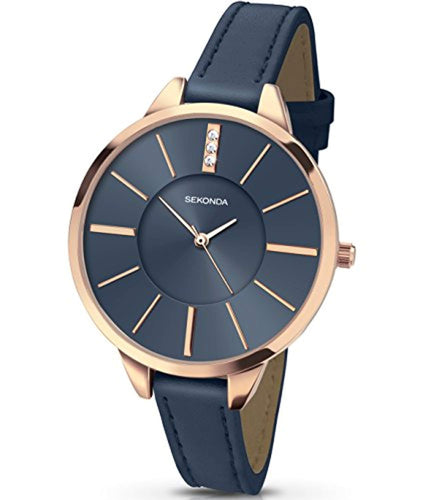Sekonda Editions Navy Strap Ladies Fashion Watch 2248 - iBuy Africa
