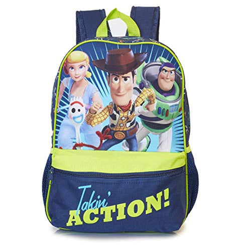 Toy Story 4 Forky Backpack, Kids Rucksack with Official Toy Story Characters Forky Woody, Buzz, Bo Peep, Perfect Childrens School Bag, Travel Bag - iBuy Africa