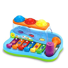 Load image into Gallery viewer, Early Education 18 M+ Olds Baby Toy Enlighten Xylophone with 3 Color Balls/Small Hammer for Children & Kids Boys and Girls - iBuy Africa