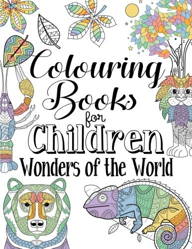 Colouring Books For Children Wonders Of The World: For Ages 8+ - iBuy Africa