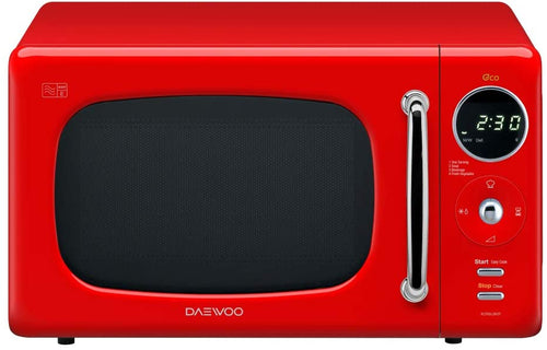 Daewoo Touch Control Microwave with Zero Standby ECO Function Red - iBuy Africa