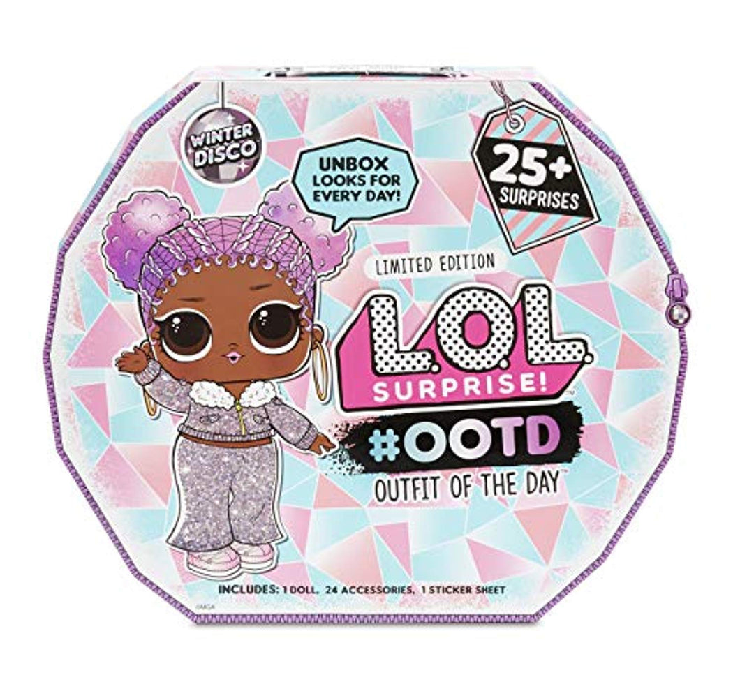 L.O.L. Surprise! #OOTD (Outfit of the Day) Winter Disco 25+ Surprises - iBuy Africa