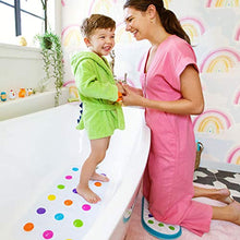 Load image into Gallery viewer, Munchkin Dandy Dots Children's Non Slip Safety Bath Mat, Multi Color, 77.5 x 36.2 cm - iBuy Africa