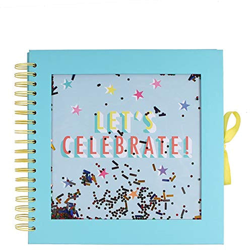 Lets Celebrate Medium Confetti Scrapbook - iBuy Africa