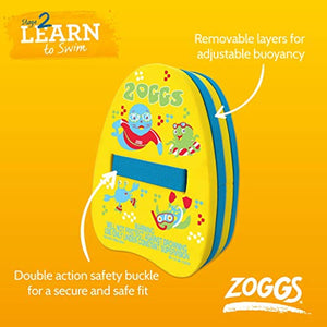 Zoggs Kids Zoggy Back Float Buoyancy Aid for Swimming - Multi, 2-6 Years - iBuy Africa