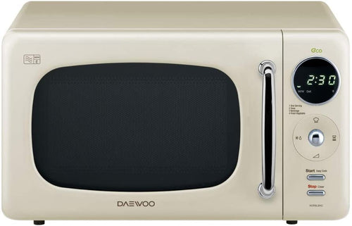 Daewoo Touch Control Microwave with Zero Standby ECO Function Cream - iBuy Africa
