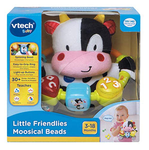 Vtech 166003 Baby Little Friendlies Moosical Beads Baby Toy Baby Educational and Sensory Toy with Music and Light For Babies & Toddlers from 3 Months+ - iBuy Africa