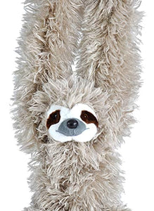 Wild Republic Europe Wild Republic Hanging Sloth Plush, Soft Toy, Cuddlekins - iBuy Africa