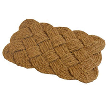 Load image into Gallery viewer, JVL Natural Hand Made Knotted Rope Coir Door Mat - iBuy Africa