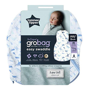 Tommee Tippee The Original Grobag, Newborn Easy Swaddle, Planet Earth - iBuy Africa
