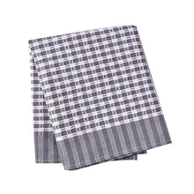 Load image into Gallery viewer, Classic Tea Towels,100% Cotton Kitchen Towels,Waffle Weave Dish Cloths,Vintage Design,3 Pack In Large Size 45x65cm (Grey) - iBuy Africa