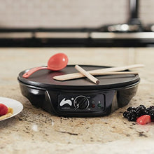 Load image into Gallery viewer, Ovation 1000W Crepe and Pancake Maker with Batter Spreader, Ladle & Spatula - iBuy Africa