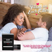 Load image into Gallery viewer, OUR MOMENTS Couples: 100 Thought Provoking Conversation Starters for Great Relationships - Fun Conversation Cards Game for Couples - iBuy Africa