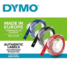 Load image into Gallery viewer, Dymo Embossing Tape Self-Adhesive, 9 mm x 3 m, Assorted Colour, Pack of 3 - iBuy Africa