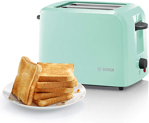 Bosch Country 2 Toaster, 980 W, Mint Green - iBuy Africa