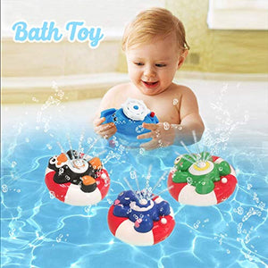 WISHTIME 12Piece Baby Bath Toy -Waterfall Water Station with Sensory Stacking Cups Enhance Your Baby's Thinking Ability and Creativity Great Bathtub Toys for Toddlers Kids Children Girls Boys - iBuy Africa