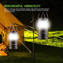 Load image into Gallery viewer, [2 PACK] Camping Lantern- Sahara Sailor Ultra Bright LED Lantern- Collapses - Suitable for: Hiking, Camping, Emergencies, Hurricanes, Outages - Super Bright - Lightweight - Water Resistant - iBuy Africa