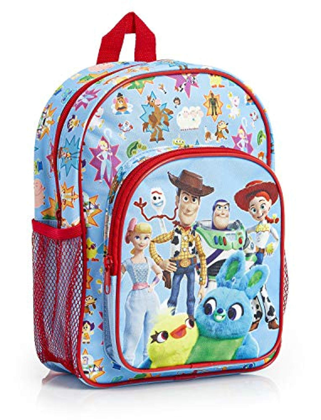 Toy Story 4 Backpack for Kids with All Over Toys Print, Fun Toddlers Rucksack with Forky Buzz Woody Ducky & Bunny, Perfect Children School Bag Nursery Or Preschool Bag, Gifts for Boys Girls - iBuy Africa