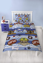 Load image into Gallery viewer, Paw Patrol Peek Boys Single Duvet Cover | Reversible Two Sided Design | Kids Bedding Set Includes Matching Pillow Case - iBuy Africa