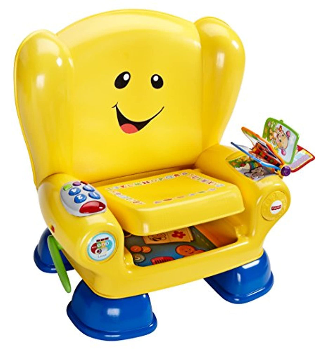 Fisher-Price Smart Stages Chair, Educational Toddler Activity Chair Toy with Sounds, Music and Phrases, Suitable for 1 Year Old - iBuy Africa